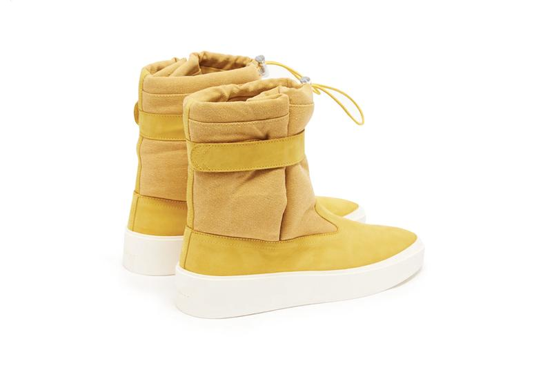 Fear Of God Ski-Lounge Canvas Suede Boots