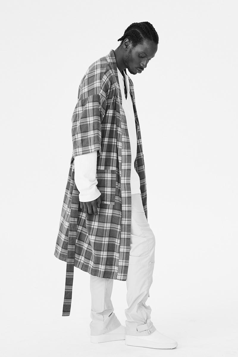 Fear Of God Spring/Summer 2019 Collection SIXTH Collection Jerry Lorenzo Kanye West streetwear plaid flannel duck jacket