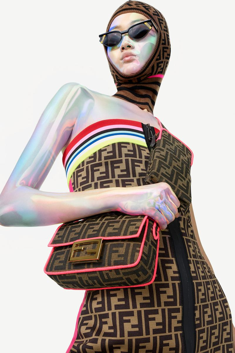 fendi roma amor collection campaign images spring summer 2019 ff series