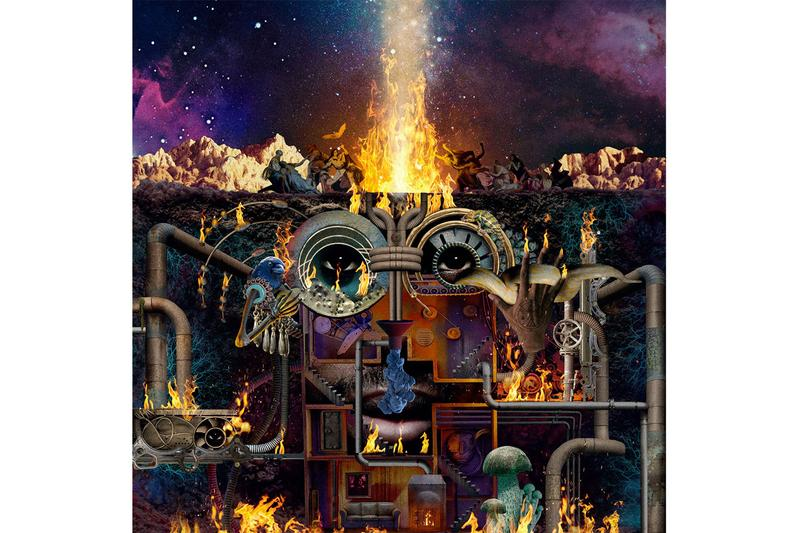 Flying Lotus Flamagra Album Stream review spotify apple music future beats instrumental hip-hop psychedelic trippy rap tierra whack anderson .paak david lynch George clinton little dragon denzel curry shabazz palaces thundercat toro y moi solange