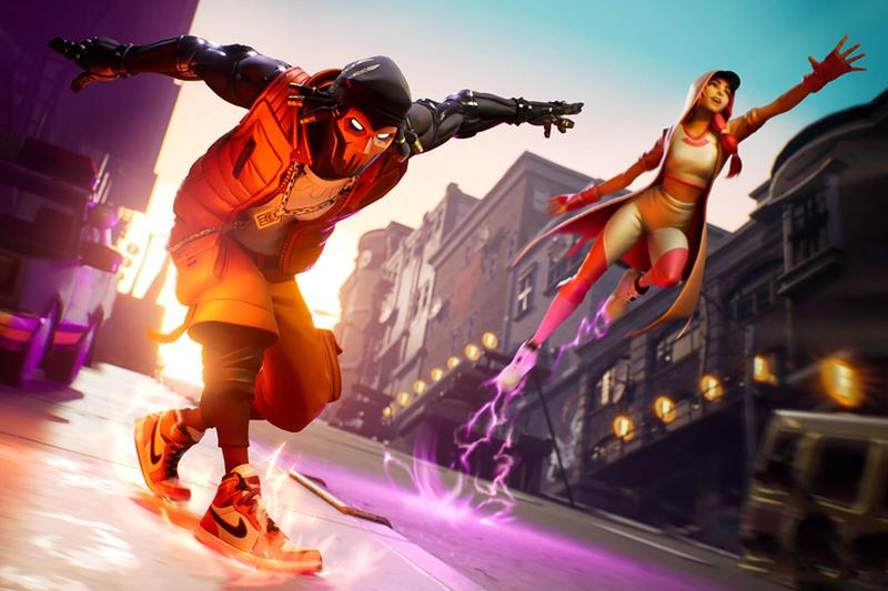 Fortnite' x Jordan Brand Downtown Drop Mode | HYPEBEAST