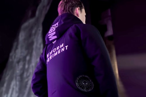 fragment design & uniform experiment Tease New Project