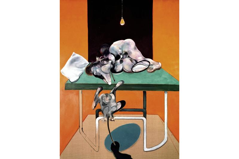 francis bacon couplings exhibition paintings artworks