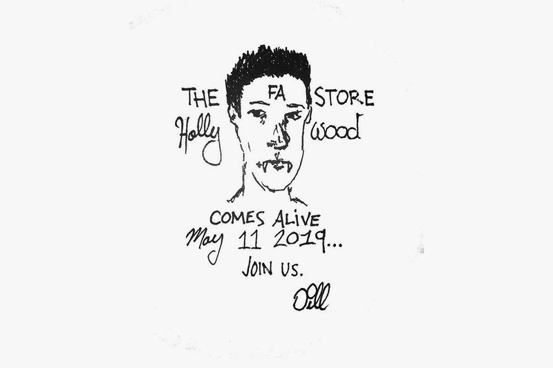 Fucking Awesome Hollywood Flagship Opening Announcement Los Angeles California Jason Dill Skate wear brand first store