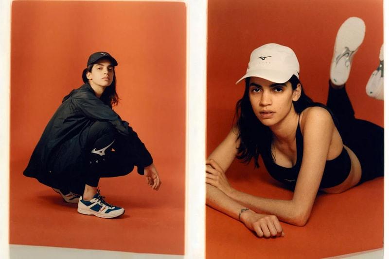 FUTUR Preps Collaborative Mizuno Sneaker and Activewear Capsule