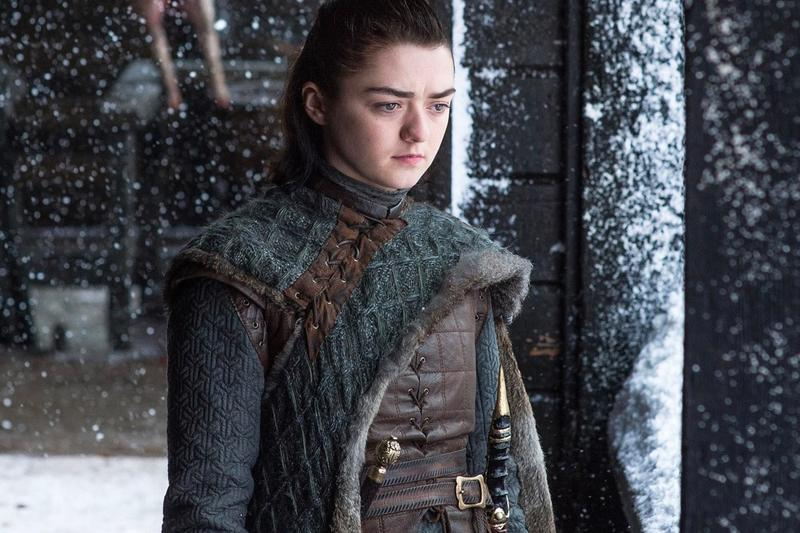 Game of Thrones Fan Recreates Arya Big Moment in a New Viral Challenge stark white walker the long night maisie williams tv series television streaming GO