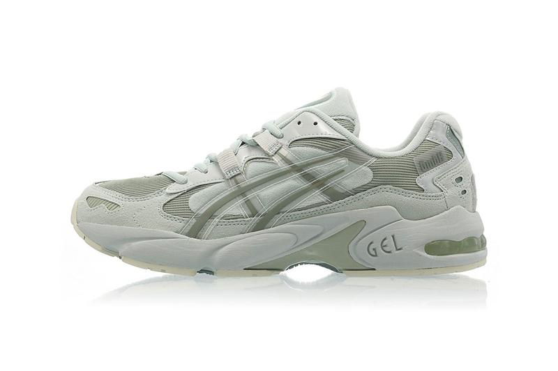 GmbH x ASICS GEL-Kayano 5 Collab Info closer look sneaker runner drop release date buy WHITE LICHEN ROCK 1021A197-300 SEASHELL 1021A197-800 1021A197-100