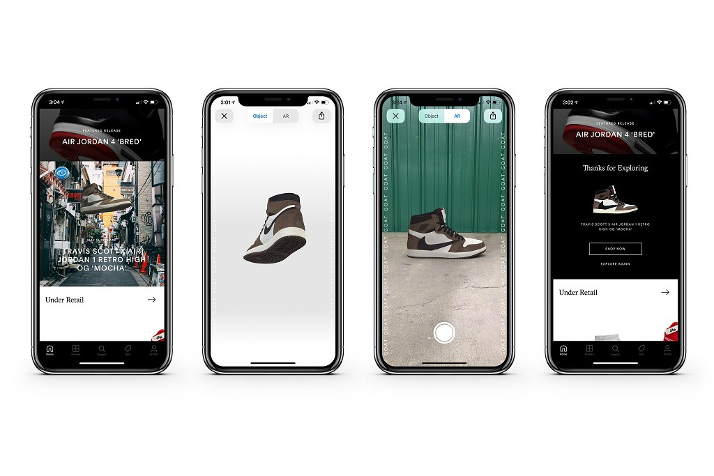 GOAT Launches Augmented Reality Sneaker