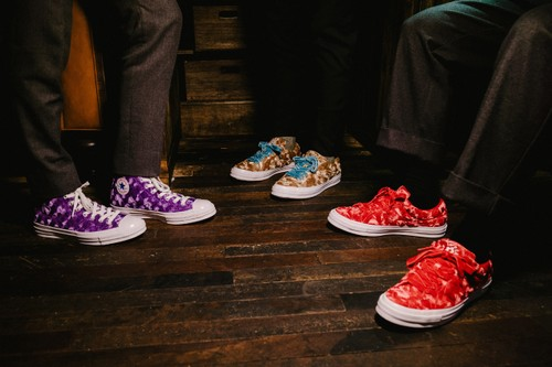 """On-Feet With the GOLF le FLEUR* x Converse """"Quilted Velvet"""" Pack"""