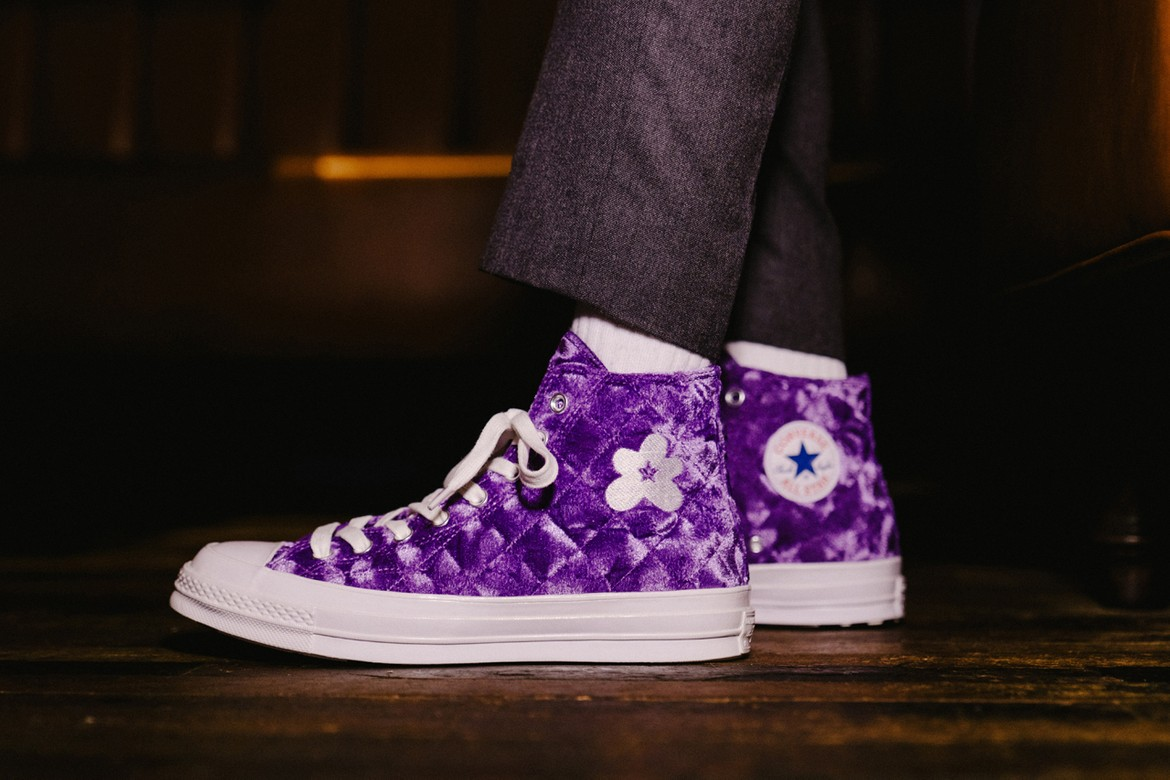 Golf Le Fleur X Converse Quilted Velvet Pack Hypebeast