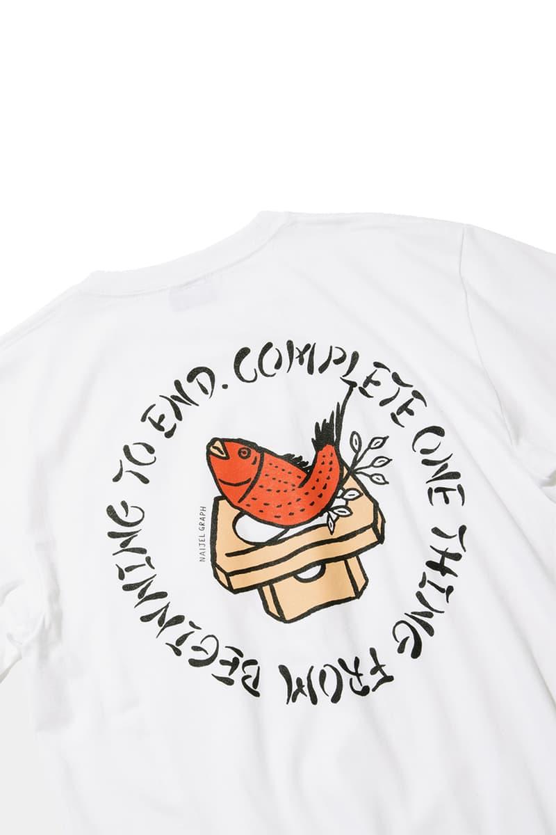 Goodhood x BEAMS T x Naijel Graph Capsule Collection Tokyo Japan Graphic Designer Ten Piece T-Shirts Caps Totes Original Artworks First Look