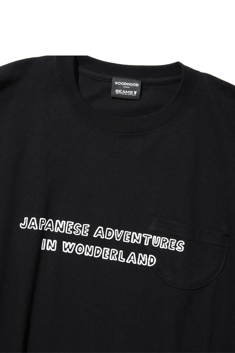 Goodhood x BEAMS T x Naijel Graph Capsule Collection Tokyo Japan Graphic Designer Ten Piece T-Shirts Caps Totes Original Artworks First Look