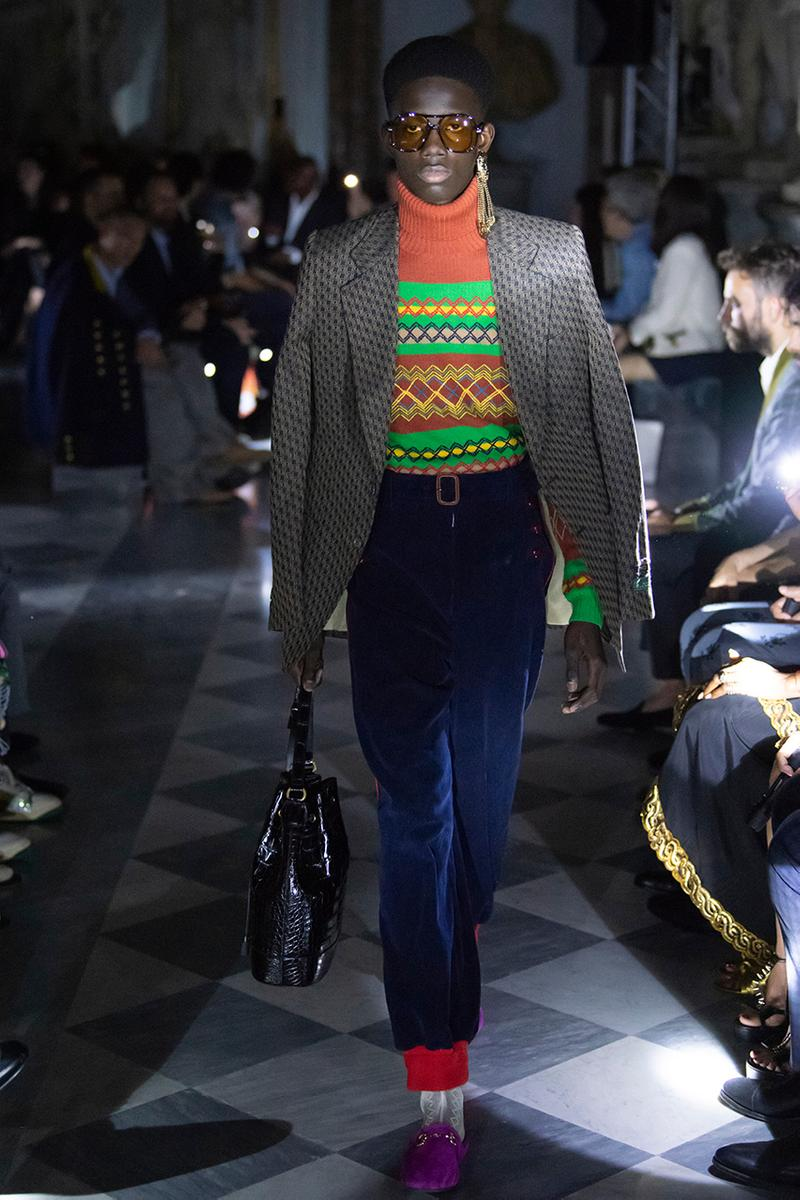 Gucci Cruise 2020 Menswear Collection Closer Look Photography Alessandro Michele Capitoline Museums Rome Show Setting Freedom of Choice Inspiration