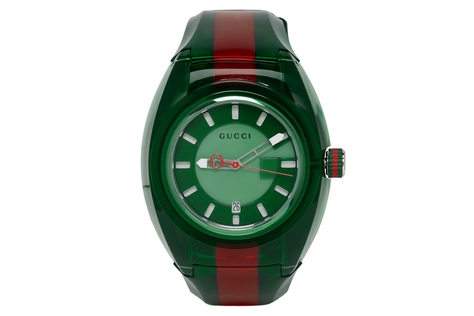 Gucci Hits Its Latest G-Sync Watches With Its Signature Colors