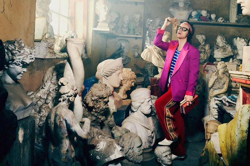 Gucci Pre-Fall 2019 Campaign Harry Styles Tailoring Harmony Korine Photography Creative Director Alessandro Michele Formalwear Suits