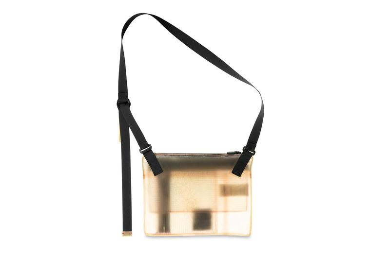 Guerrilla Group Translucent Leather Bag Release White APPARITION® transparent cowhide ECCO