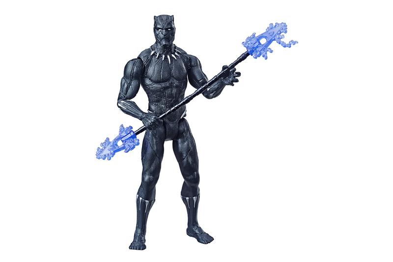 Hasbro Toys avengers endgame toy capsule collection gauntlet iron man electric powered gift guide superhero Captain America Black Panther Ant-Man Iron Spider figure statue figurine collectible buy cop purchase order present