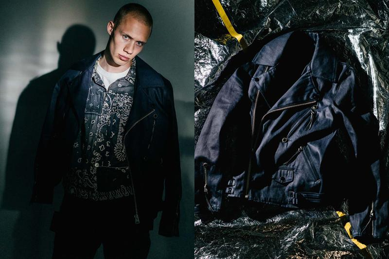 HAVEN | KAPITAL Spring/Summer 2019 Collection Fisherman vest denim oz workwear folkwear paisley indigo tactical utilitarian