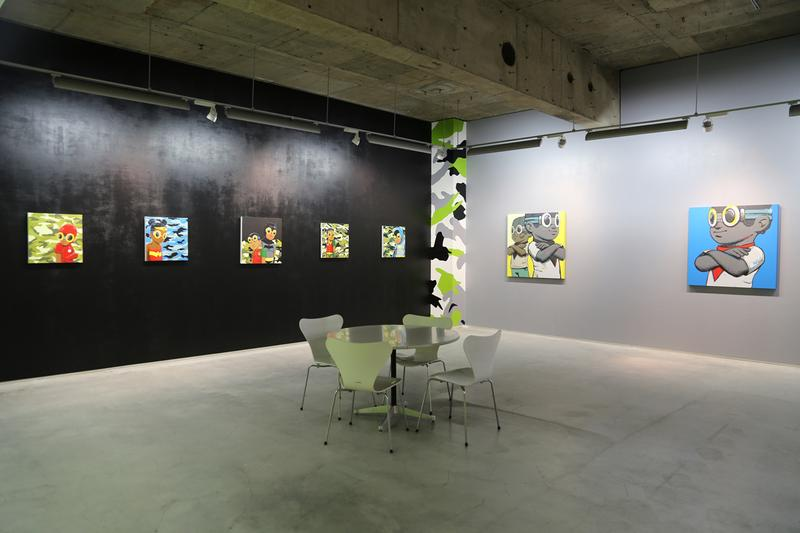 hebru brantley great debate exhibition megumi ogita gallery tokyo paintings