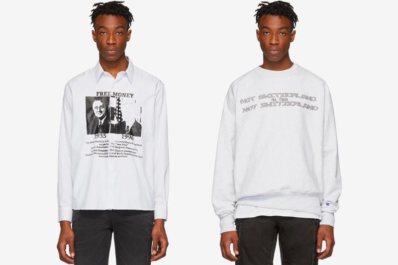 HOT MESS SSENSE Exclusives Luka Sabbat and Noah Dillon 2019