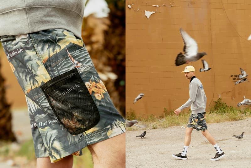 huf summer 2019 collection drop lookbook release