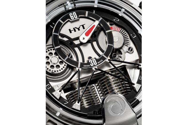 HYT Silk Satin H1 Alinghi Watch Release Info timepiece accessories jewlery carbon titanium 13891993 / 148TC09NFRC 30mm sapphire crystal anti-reflective face