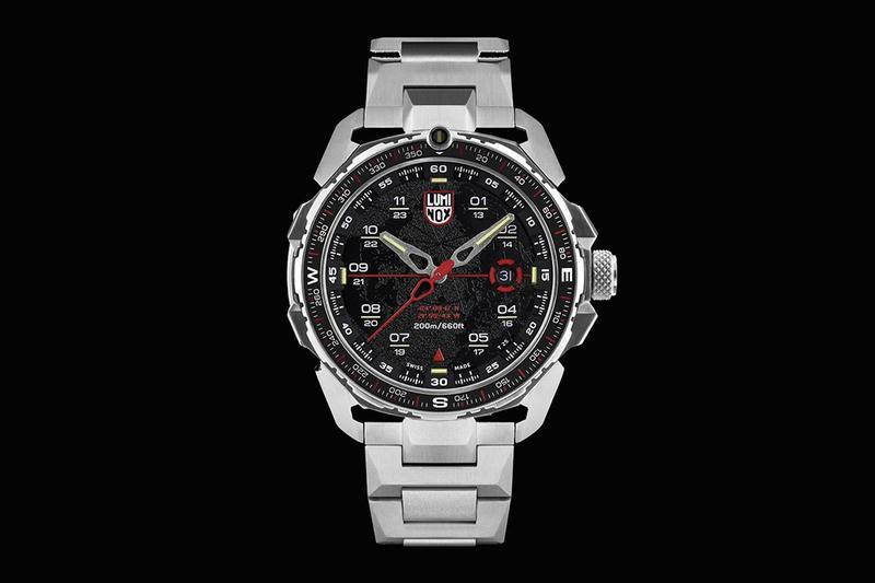 ICE-SAR x Luminox Arctic 1200 Series Watches Icelandic Search and Rescue Association arctic conditions heavy-duty water proof anti-glare