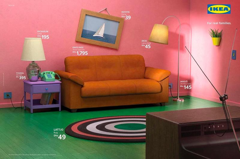Ikea The Simpsons Stranger Things Friends Living Rooms