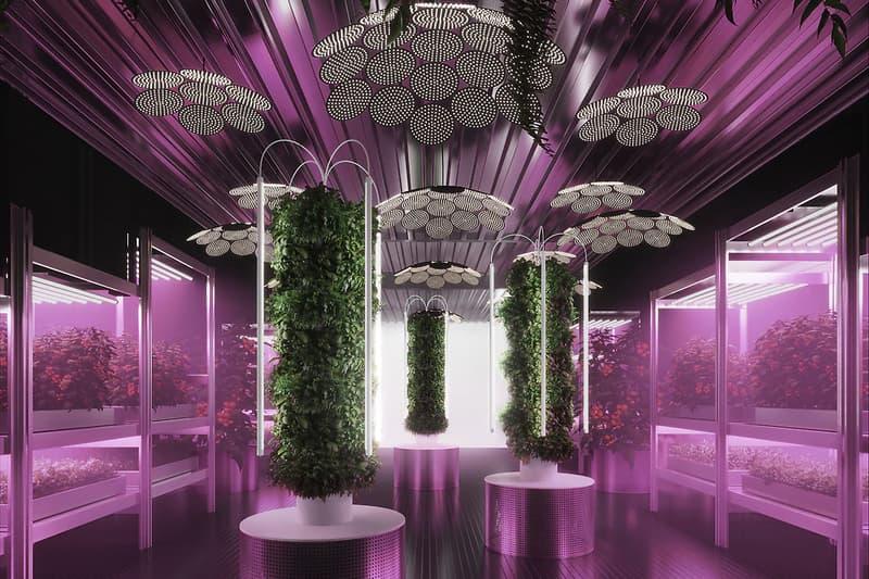 "IKEA Tom Dixon Urban Farming Chelsea Flower Show Exhibition Design Futuristic Showcase ""Gardening will Save the World"" Participatory City"