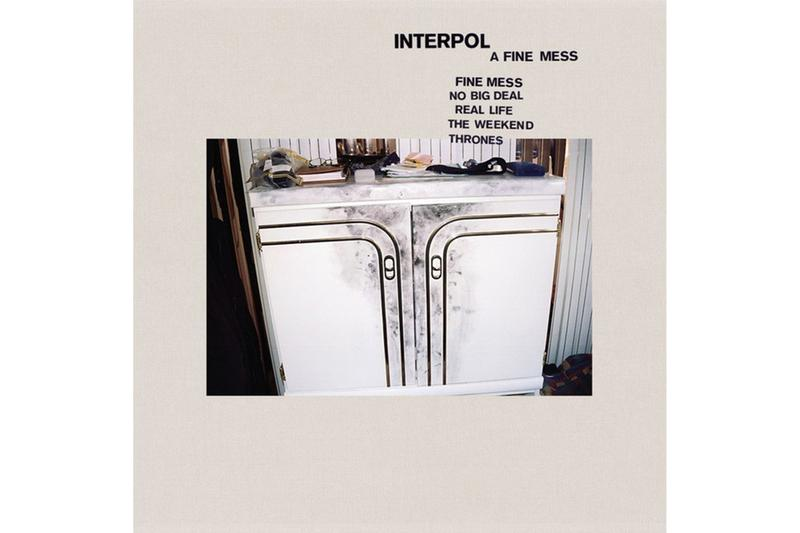 Interpol A Fine Mess Album Stream