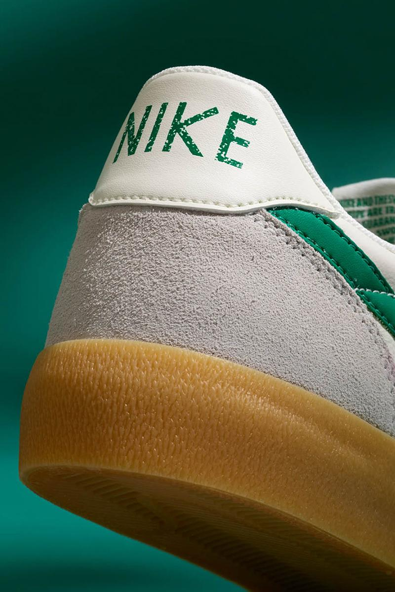J Crew x Nike Killshot Sail Green Release Info vintage retro sneakers shoes collaboration beaverton