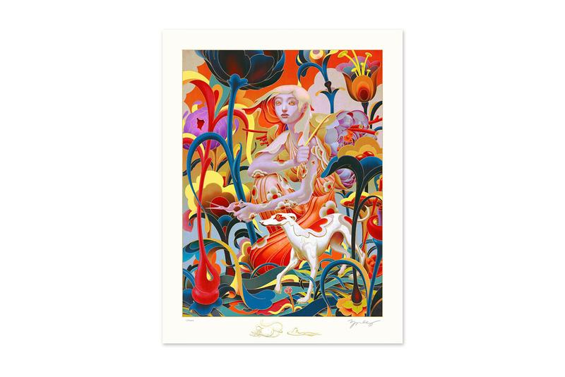 james jean the forager time limited edition print artwork editions