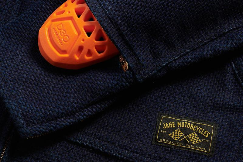 Jane Motorcycles Sashiko Mechanic's Jacket Japanese Motorcycles  stitching outerwear