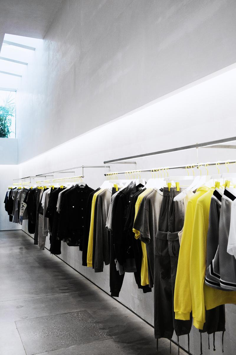 John Elliott Opens First Flagship Store in West Hollywood california melrose avenue may 8 2019