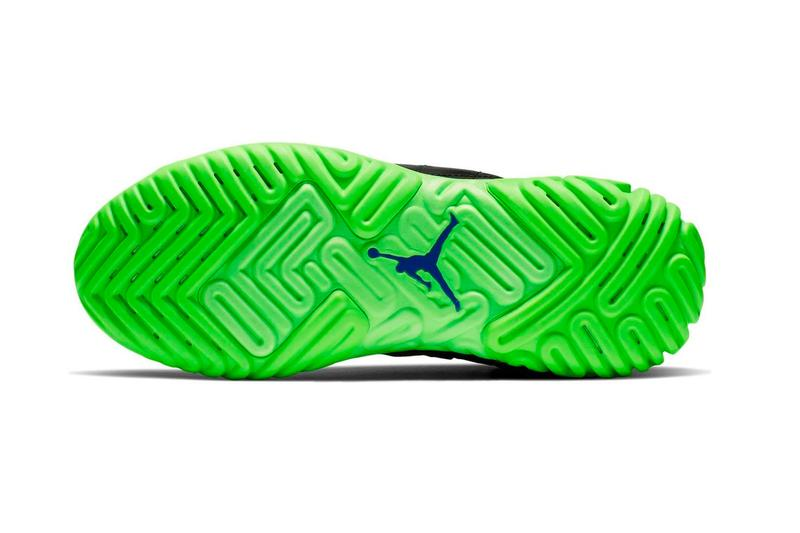 "Jordan Brand Proto-React ""Black/Green"" Volt"