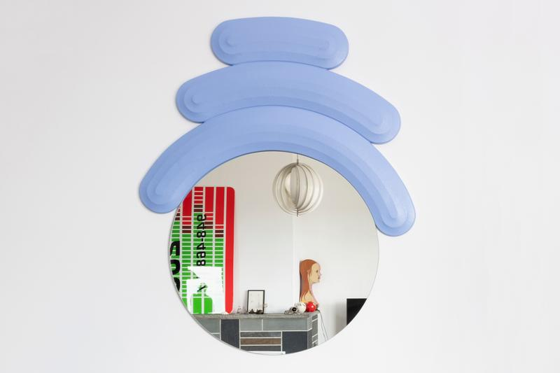 Josh Sperling and Case Studyo Come Together for a Sinuous 'Friend' Mirror