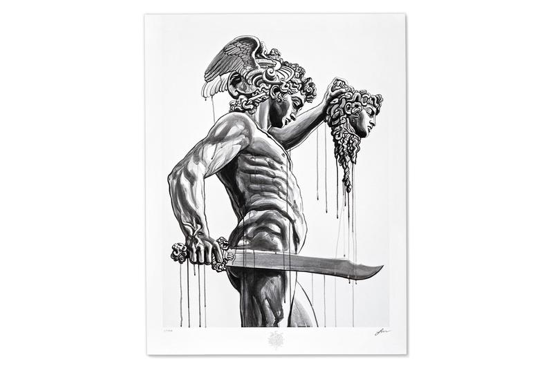 Jun Cha to Release Time-Limited Edition 'Warrior' Print