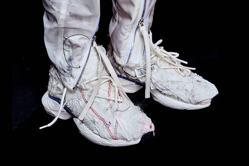 best sneakers 14ea9 fff11 Korea s KANGHYUK has built a cult following around its inventive upcycling,  deconstructing and repurposing airbags into each handmade creation.