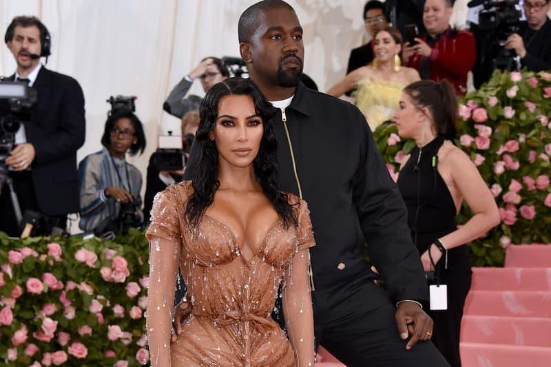 Resultado de imagen para kim kardashian kanye west met gala 2019