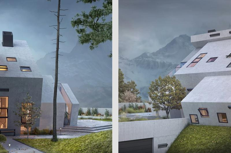 Karin Wiciak Wamhouse Studio Pentahouse Concept architecture architect instagram design home house minimalism deconstructivism