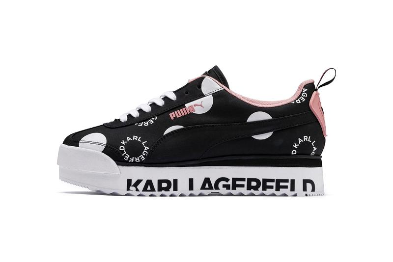 Karl Largerfeld x PUMA Roma Sneaker Release Information Drop Date Cop Worldwide Release Chanel Fashion Designer Posthumous Death Collecton