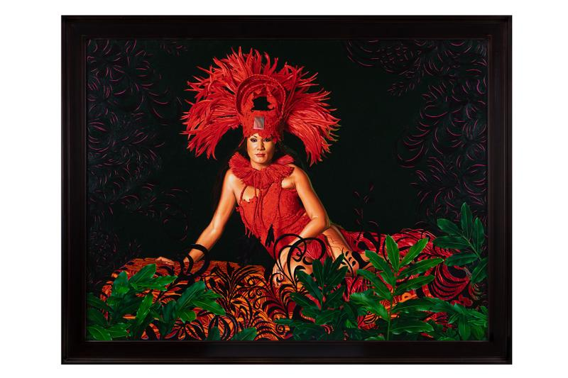 kehinde wiley tahiti galerie templon paris exhibition paintings portraits barack obama paul gauguin