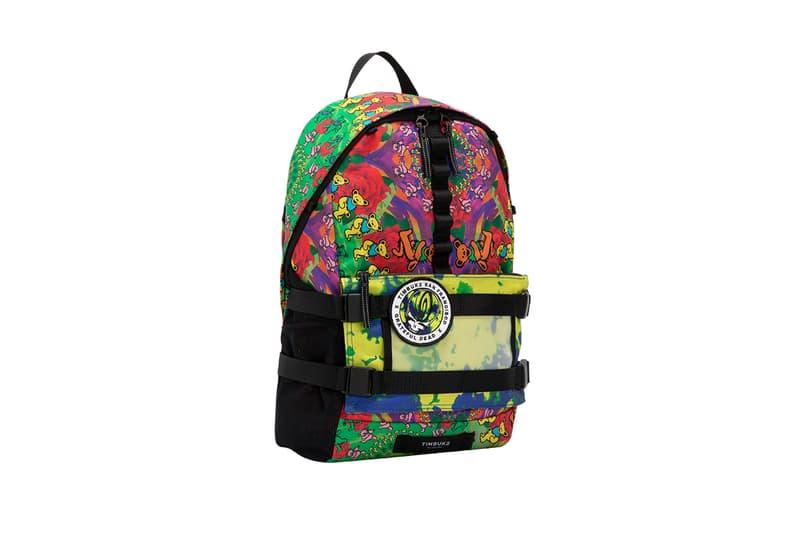 "Kei Hirosawa BEAMS Japan Timbuk2 ""Grateful Dead"" Collaboration Capsule Collection Spring Summer 2019 SS19 Collective Backpack Tote Rucksack Launch Backpack"