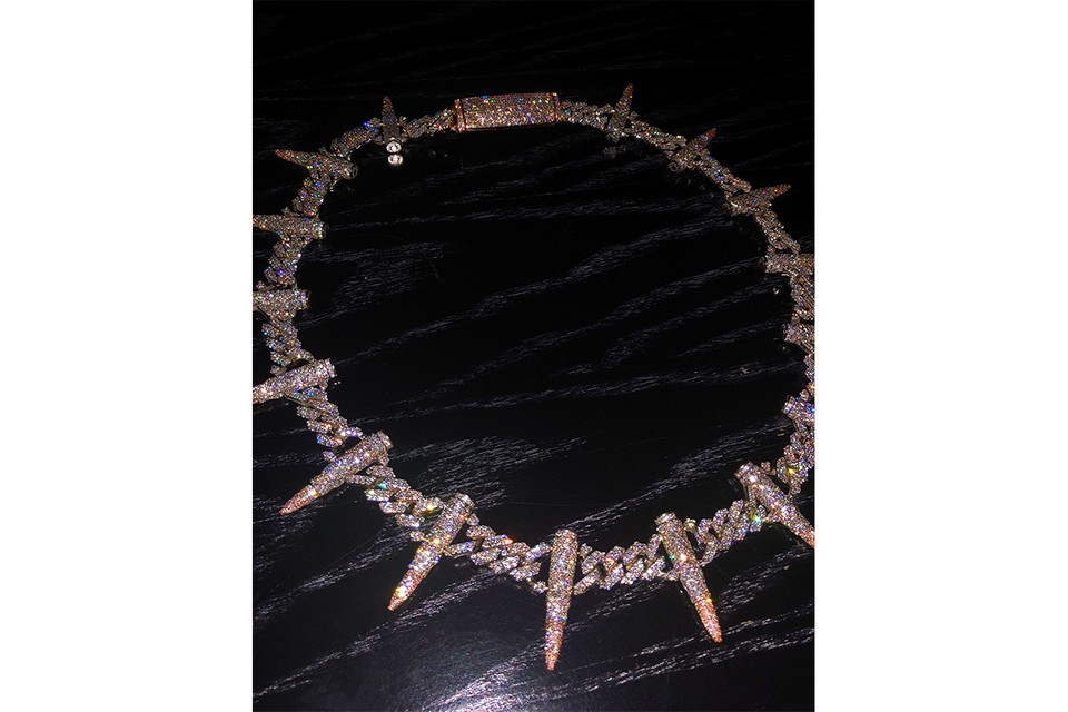 Avianne & Co. Crafts Kelly Oubre Jr.'s Aggressively Iced out Bullet Link Chain