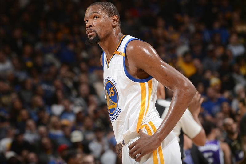 Kevin Durant Out NBA Finals Game 1 Against Toronto Raptors injury Basketball