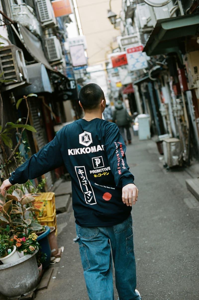Kikkoman Primitive Skateboarding Collaboration Tastes japan skate soy sauce deck