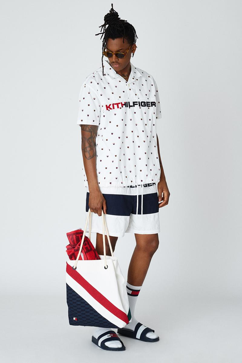 KITH x Tommy Hilfiger Lookbook, Ronnie Fieg Talk interview explain collection product imagery release date info buy may 24 2019