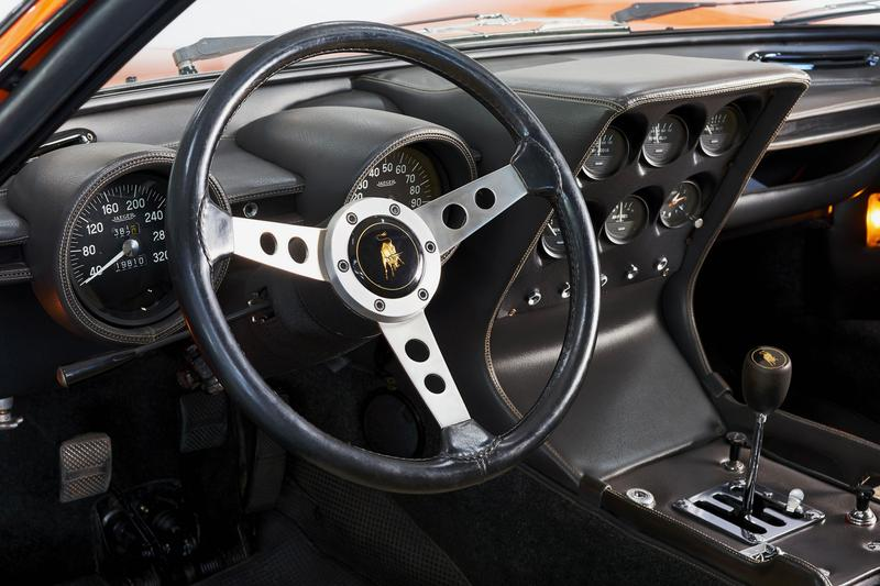 Lamborghini Finds The Italian Job Miura and Restored It car supercar vintage racing speed movie stunt cinema racer