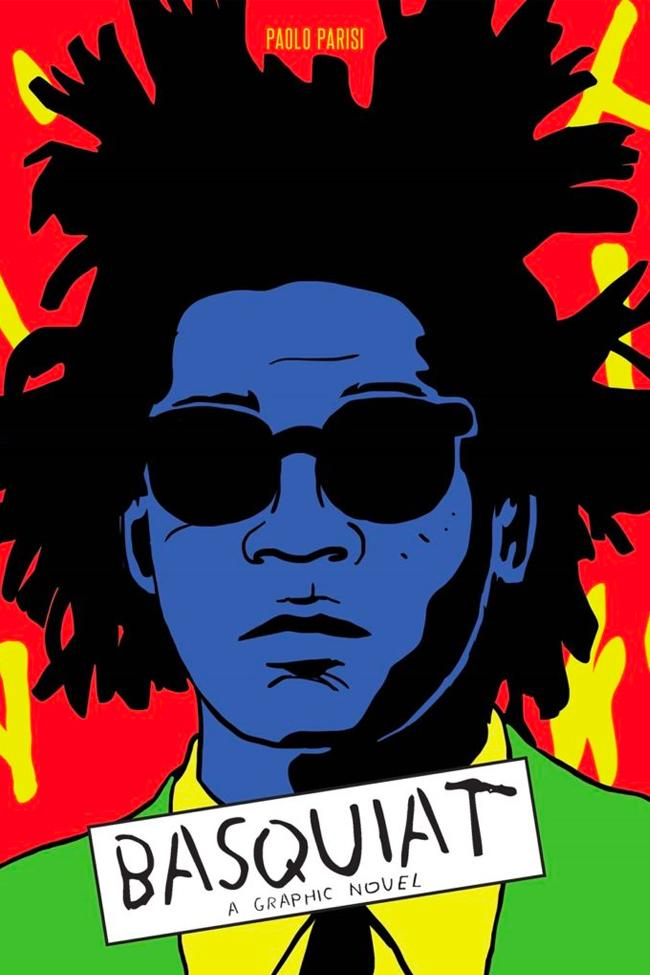 paolo parisi Laurence King publishing jean michel Basquiat A Graphic Novel Info Release