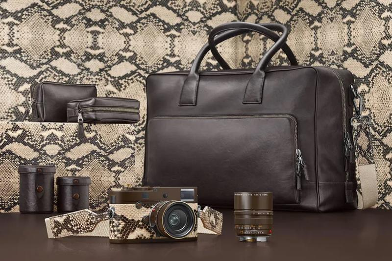 Leica x Lenny Kravitz M Monochrom Drifter Info cameras design singer actor musician germany photographer photography custom leather snake skin travel collectible collection
